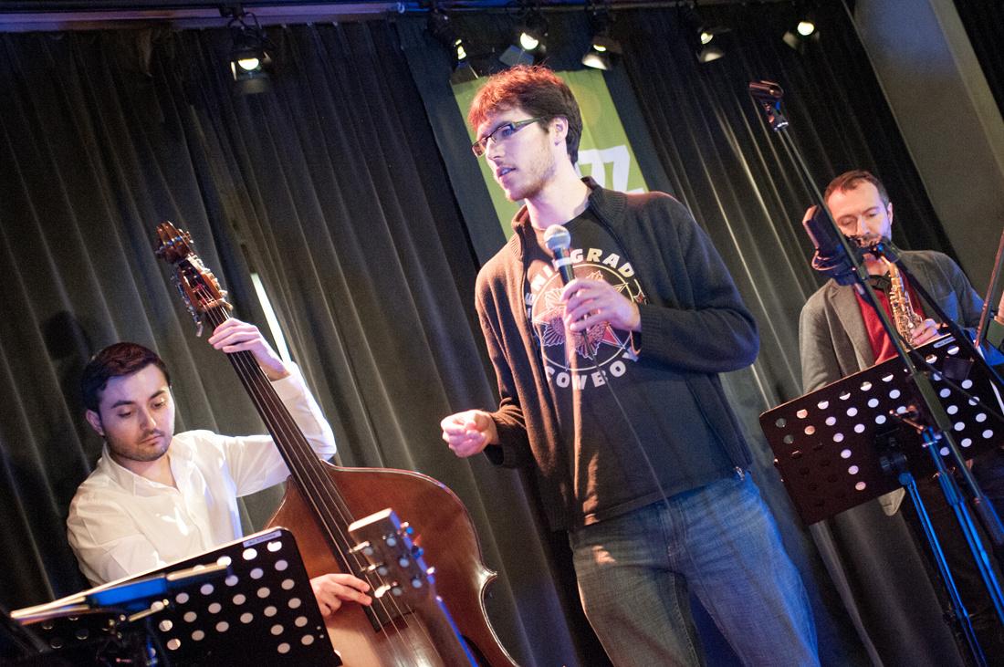 Jazz Station Bruxelles Singers' Night Jan2015