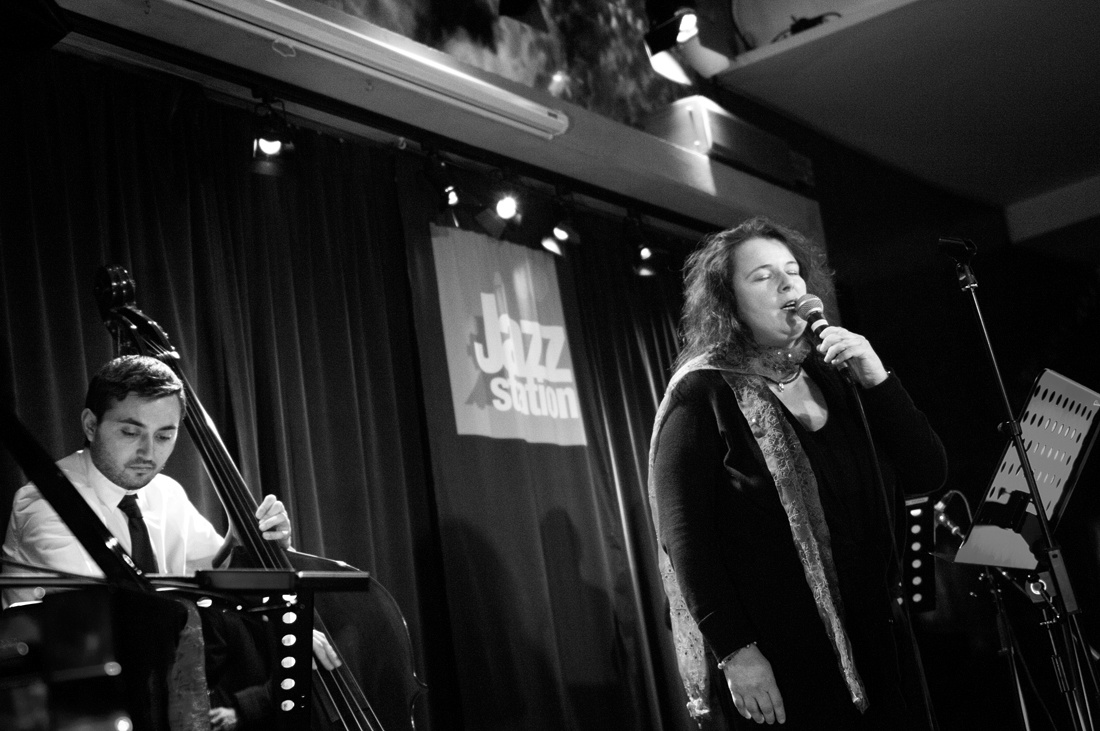 Jazz Station Bruxelles Singers' Night Jan2015