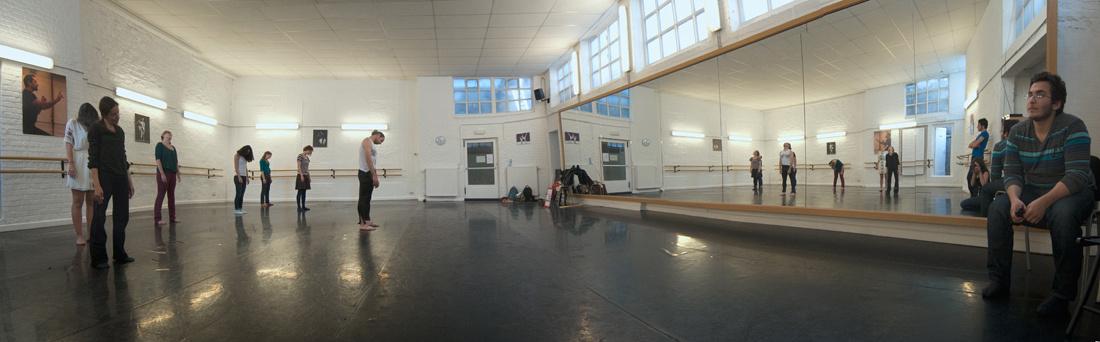 répétition studio Béjart Bruxelles